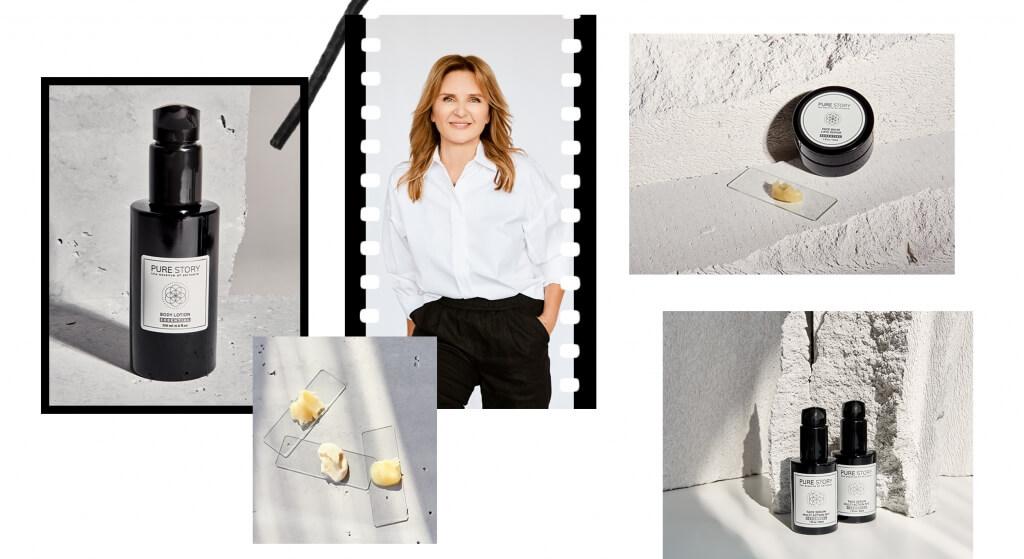 Aleksandra Rymsza anti-ageing cosmetics pure story