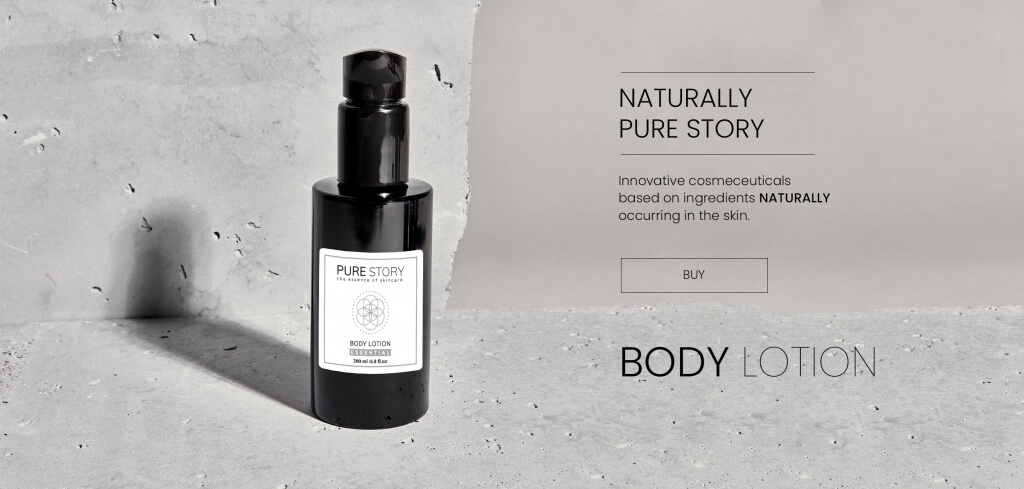 body lotion producent pure story